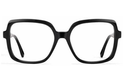 CentroStyle F031054001000 SHINY BLACK 54 1 Women's Eyeglasses