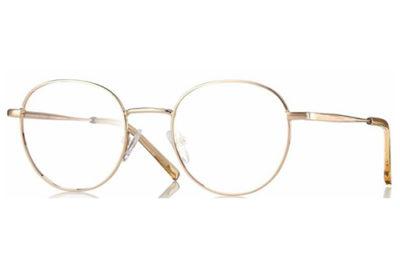 CentroStyle F034348018000 SHINY GOLD 48 20 Unisex Eyeglasses