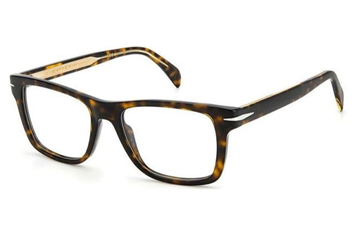 David Beckham Db 1073 086/38 HAVANA 54 Men's Eyeglasses