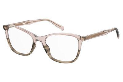 Levi's Lv 5017 1ZX/18 PINK HORN 53 Women's Eyeglasses