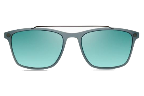 MODO ALTON clip on smoke grey 54 Men's Sunglasses