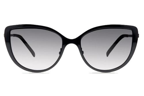 MODO IVY clip on black gold 53 Women's Sunglasses