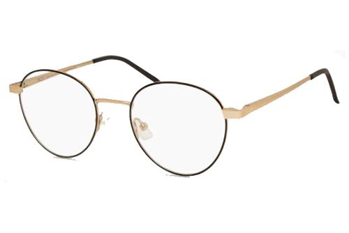 MODO QUEBEC gold black 49 Unisex Eyeglasses
