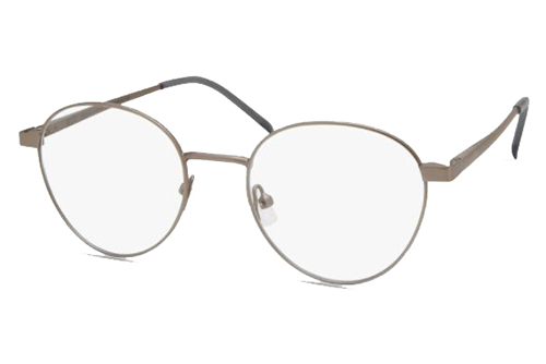 MODO QUEBEC matte dark silver 49 Unisex Eyeglasses