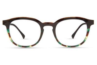 Modo 7050 black tortoise gradient 49 Unisex Eyeglasses