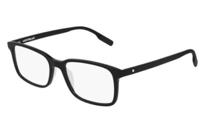 Montblanc MB0152O 001 black black transpare 54 Men's Eyeglasses