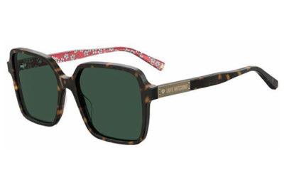 Moschino Mol032/s 086/QT HAVANA 55 Women's Sunglasses