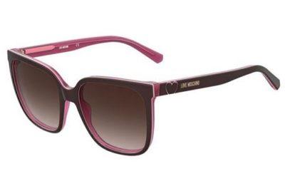Moschino Mol044/s LHF/HA BURGUNDY 56 Women's Sunglasses