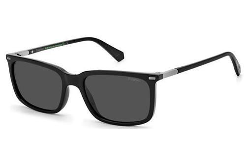 Polaroid Pld 2117/s 807/M9 BLACK 55 Men's Sunglasses