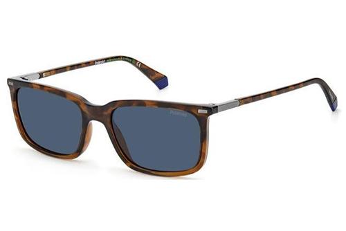 Polaroid Pld 2117/s 9N4/C3 HAVANA BROWN 55 Men's Sunglasses