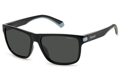 Polaroid Pld 2123/s 08A/M9 BLACK GREY 57 Men's Sunglasses