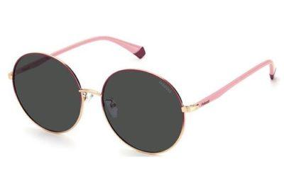 Polaroid Pld 4105/g/s EYR/M9 GOLD PINK 60 Women's Sunglasses