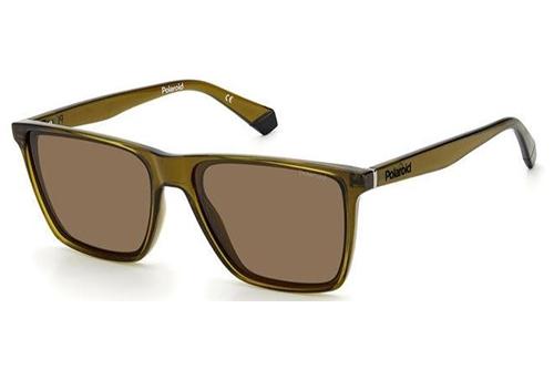 Polaroid Pld 6141/s 09Q/SP BROWN 58 Men's Sunglasses