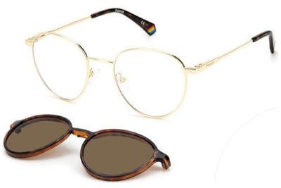 Polaroid Pld 6158/cs J5G/SP GOLD 51 Unisex Eyeglasses