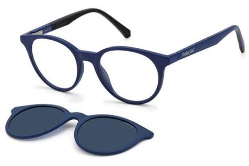 Polaroid Pld 8044/cs FLL/C3 MATTE BLUE 45 Unisex Eyeglasses