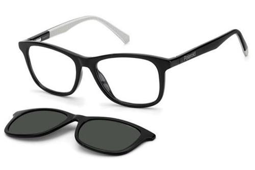 Polaroid Pld 8045/cs 08A/M9 BLACK GREY 48 Men's Eyeglasses