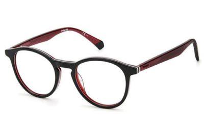 Polaroid Pld D391 OIT/19 BLACK RED 48 Unisex Eyeglasses