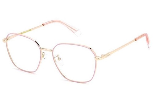 Polaroid Pld D437/g S45/17 PINK GOLD 53 Women's Eyeglasses