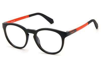 Polaroid Pld D823 8LZ/18 BLACK ORANGE 46 Kid's Eyeglasses