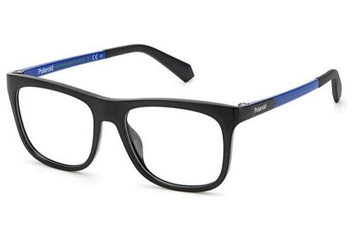 Polaroid Pld D824 D51/15 BLACK BLUE 48 Kid's Eyeglasses