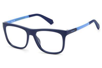 Polaroid Pld D824 ZX9/15 BLUE AZURE 48 Kid's Eyeglasses