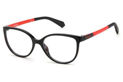 Polaroid Pld D825 8LZ/15 BLACK ORANGE 49 Kid's Eyeglasses