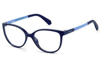 Polaroid Pld D825 ZX9/15 BLUE AZURE 49 Kid's Eyeglasses