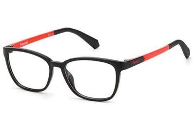 Polaroid Pld D826 8LZ/14 BLACK ORANGE 48 Kid's Eyeglasses