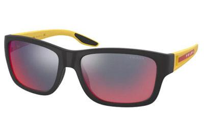 Prada Linea Rossa 01WS 08W08F 59 Men's Sunglasses
