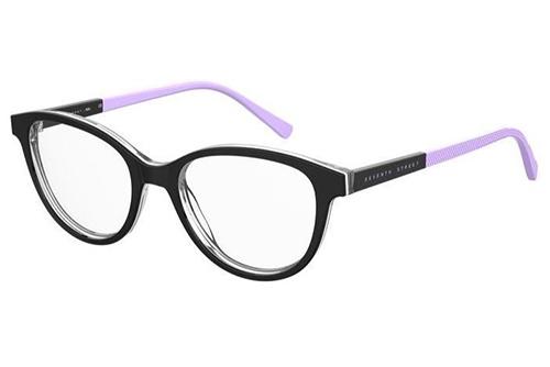 Seventh Street S 321 80S/16 BLACK WHITE 47 Kid's Eyeglasses