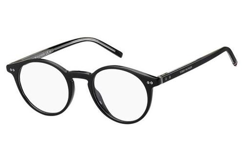Tommy Hilfiger Th 1813 807/21 BLACK 49 Men's Eyeglasses