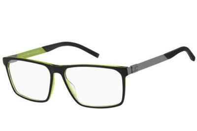 Tommy Hilfiger Th 1828 7ZJ/15 BLACK GREEN 58 Men's Eyeglasses