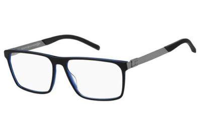 Tommy Hilfiger Th 1828 D51/15 BLACK BLUE 58 Men's Eyeglasses