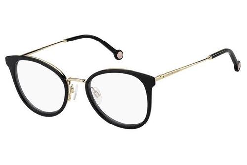 Tommy Hilfiger Th 1837 R6S/21 GREY BLACK 52 Women's Eyeglasses